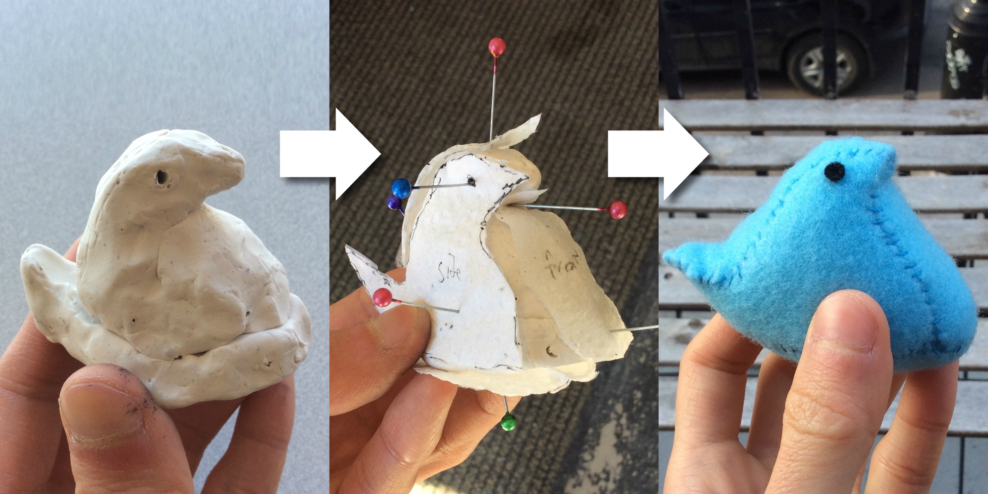 Make Plushie Patterns With Play Doh Paper Towels